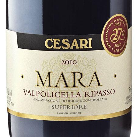"""CESARI """"Mara Valpolicella Superiore"""" 2010"""