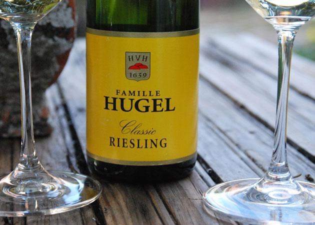"""HUGEL & FILS """"Riesling"""" 2012"""